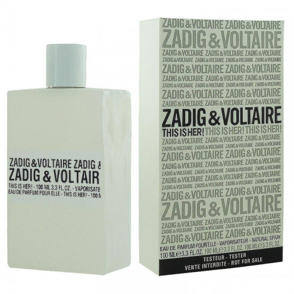 Парфюмерная вода Zadig & Voltaire This Is Her (Тестер)